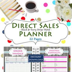 Running a Direct Sales Business is such fun but also requires a lot of work and organization to ensure sales and success! When you work for