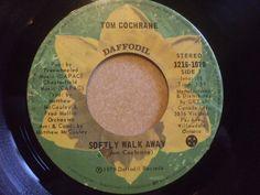 "Tom Cochrane – Softly Walk Away Label: Daffodil Records – 1216-1070 Format: Vinyl, 7"", 45 RPM, Single Country: Canada Released: 1974 Genre: Rock, Stage & Screen Walking Away, Daffodil, Toms, Stage, Label, Canada, Country, Rural Area, Daffodils"