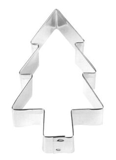 This sturdy tree cookie cutter from Fox Run is made from tin plated steel and lets you cut tree shaped cookies in a breeze. The cookie cutter is great for decorations, crafting, or gift giving. Christmas Tree Design, Christmas Tree Decorations, Christmas Gifts, Christmas Tree Cookie Cutter, Tree Cutter, Essential Kitchen Tools, Tree Shapes, Kitchen Tools And Gadgets, Shaped Cookie