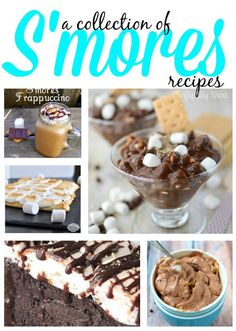 National Smores Day Recipes Roundup- Celebrate National S'mores Day with these Delicious Chocolate Smores Recipes!!