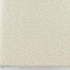 Companion Fabric CCW9-17- Cream Tiny Vine Print Fabric | Hobby Lobby