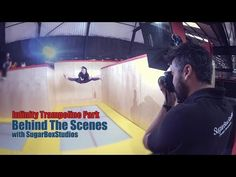 Infinity Trampoline Park Photo Shoot Behind The Scenes - YouTube