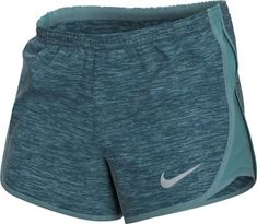 Nike Women's Dry Tempo Shorts Mineral Teal/Wolf Grey S Flannel Outfits, Sporty Outfits, Nike Outfits, Running Fashion, Fitness Fashion, Running Clothing, Running Shorts, Workout Shorts, Women's Athletic Shorts