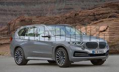 Proposition pour le BMW X7 qui devrait concurrencer des mastodontes tels que le Mercedes GL, Land Rover Range Rover et autres Infiniti QX80.