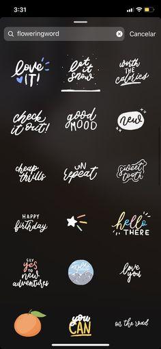 Instagram Emoji, Instagram Frame, Creative Instagram Stories, Instagram And Snapchat, Instagram Blog, Instagram Story Ideas, Instagram Quotes, Foto Filter, Instagram Highlight Icons