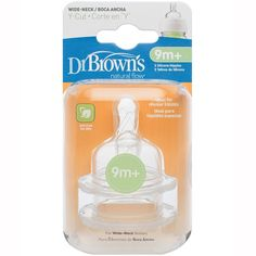 Dr Brown's Wide Neck Teats Level 4 2 Pack Please Note For Dr Brown&Rsquo;s Wide Neck Bottles, The Teats For Options And Options+ Range Are Not Interchangeable. Avent Baby Bottles, Glass Baby Bottles, Amber Teething, Teething Toys, Dr. Brown, Bottles For Breastfed Babies, Baby Bottle Sterilizer, Bottle Picture, Bottle Images