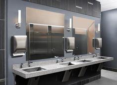 Public Restroom Shannon Ketron Tile Industrial