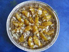Banaani-persikkapiiras