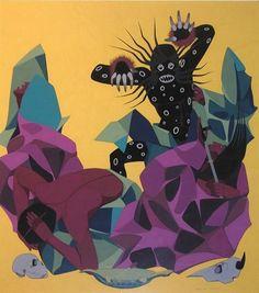 by a famous Sioux artist Oscar Howe