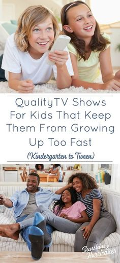 Kids TV Shows That Will Keep Them From Growing Up Too Fast . Why does it seem like we go from Disney Jr. to Dating with nothing in between? Here are TV shows you can feel good about your kids watching.  #TVshowsforKids #KidsTVShows #TVforKids #Kids #Tweens #Parenting #FamilyTVShows #Family #KidsMedia #ScreenTime  via @sunandhurricane Funny Girl Movie, Funny Girls, Funny Books For Kids, Books For Boys, Disney Jr, Disney Junior, Parenting Teens, Parenting Articles, Parenting Hacks