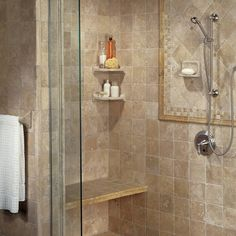 American Olean Travertine Tile featured on About.Com Home Renovations