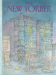 Iris Van Rynbach | The New Yorker Covers