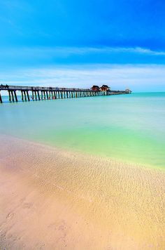 First time I've actually been to one of these pictures I've seen! - Naples Pier, Naples, Florida