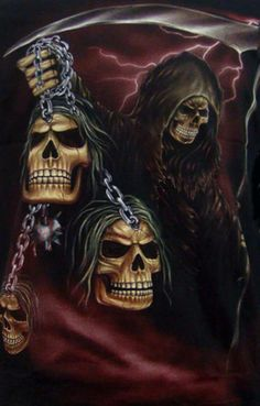 Pin by Alane Pundt on Grim Reaper in 2019 Fantasy Kunst, Dark Fantasy Art, Dark Art, Grim Reaper Art, Grim Reaper Tattoo, Death Reaper, Evil Skull Tattoo, Skull Tattoo Design, Tattoos Skull