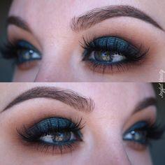 Emerald eye makeup look See this Instagram photo by @joyfulvanity • 130 likes