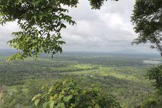 View of Sigiriya landscape from  Lion's Rock - Sri Lanka