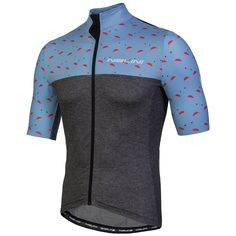 1bb94af51 Nalini Centenario Short Sleeve Jersey - Grey Flamingo