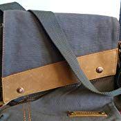 Customer image Urban Bags, Vintage Canvas, Messenger Bag, Crossbody Bag, Shoulder, Image, Black, Black People, All Black