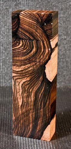 Gallery Grade Malaysian Blackwood Ebony Knife Scales Pistol Grips  (MB1490), P,F #Islewoods