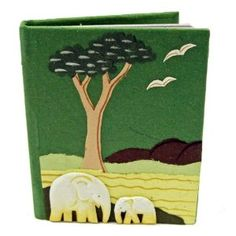 Mr. Ellie Pooh Dinky Elephant Dung Paper Notebooks