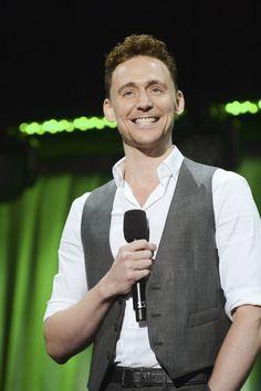 Tom Hiddleston @ Disney D23 Expo - August 9, 2013