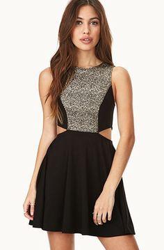 Forever 21 Touch of Glam Skater Dress, $17.80
