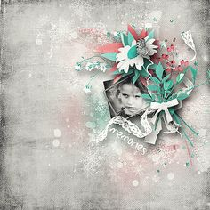 When Cold Plus FWP} by DitaB Designs @ pickleberrypop Digital Scrapbooking, Layouts, Cold, Design