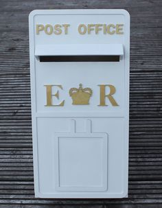 Personalised Wooden Wedding Post Box with fully by scratchycat, $80.00