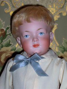 Adorable cabinet size Kley & Hahn 526. What a sweet little fella he is!   #DollShopsUnited