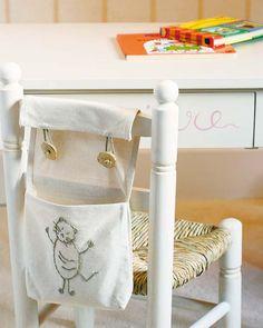 Mira que buena idea para el cuarto de los niños