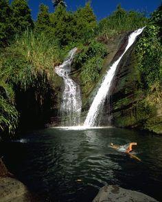 Wild Swimming and Waterfalls in Grenada Grenada Travel Honeymoon Backpack Backpacking Vacation Budget Bucket List Wanderlust Cruise Vacation, Vacation Trips, Vacation Spots, Romantic Beach Getaways, Romantic Travel, Romantic Destinations, Travel Destinations, Grenada West Indies, Grenada Caribbean