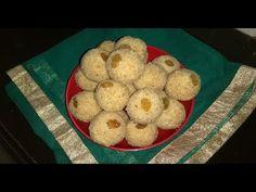 pakatale rava ladoo in marathi - YouTube Rava Ladoo, Diwali Snacks, Make It Yourself, Breakfast, Sweet, Kitchen, Youtube, Food, Morning Coffee