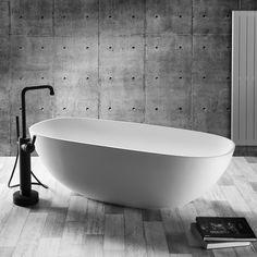 AMSTERDAM - DADO QUARTZ TUB - Free standing bathtub. #slikportfolio