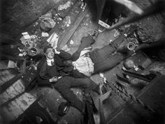 Weegee - Crime Scene photograph