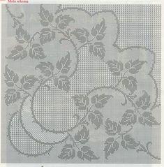 Kira scheme crochet: Scheme crochet no. 1514