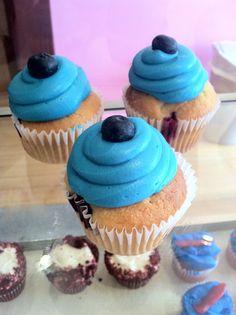 Blueberry Lemon Cheese Cupcakes