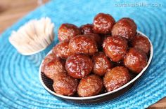 Sweet and Sour Meatballs {Easy!} | Our Best Bites