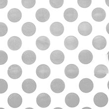 "Hot Metallic Gold POLKA DOTS White Tissue Paper for Gift Wrapping 15/""x20/"" Sheets"