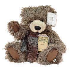 Suki Silver Tag Ethan Teddy Bear+ with Organza Pull String Bag 3 Bears, Cute Bears, Teddy Bears, Dont Feed The Bears, Woolen Scarves, Charlie Bears, Silver Fabric, Love Bear, String Bag