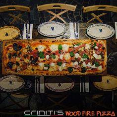 Criniti's 1 metre wood fire pizza... Yum! Fire Pizza, Wood Fired Pizza, Birthday Dinners, Travel List, Firewood, Restaurants, Southern, Food, Woodburning