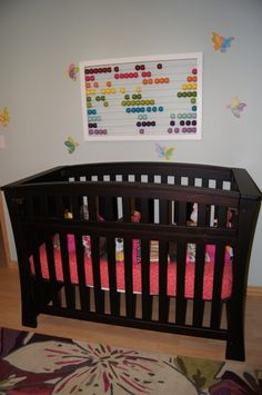 Abacus project for baby girls nursery