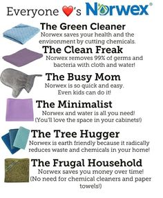 Norwex Home - Premium Microfiber & Sustainable Cleaning Products Norwex Cleaning, Safe Cleaning Products, Household Cleaning Tips, Cleaning Hacks, Norwex Products, Norwex Biz, Norwex Party, Norwex Consultant, Chemical Free Cleaning