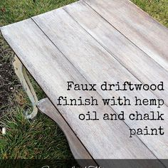 Reviving Damaged Wood With Hemp Oil. I like the final staging of this piece