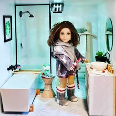 372.3k Posts - See Instagram photos and videos from 'agig' hashtag Ag Doll House, Barbie House, Doll Houses, American Girl House, American Girls, Ag Dolls, Girl Dolls, Doll Furniture, Dollhouse Ideas