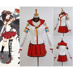 Kantai Collection Japanese Battleship Yamato Dress Cosplay Costume