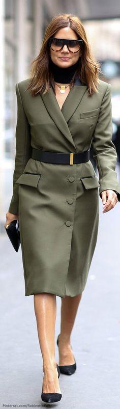 Christine Centenera | Business Street Style, PFW
