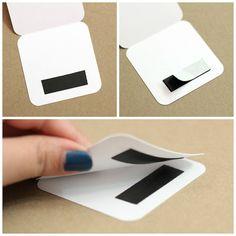 DIY Magnetic Bookmark | Analisa Murenin for Silhouette