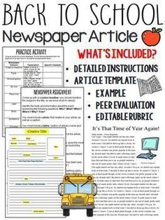 Newspapers Part  Conducting Interviews  Newspaper Curriculum