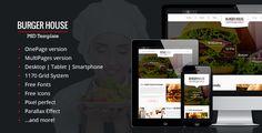 BurgerHouse - Restaurant - Responsive PSD Template - http://gumbum.com/product/burgerhouse-restaurant-responsive-psd-template/