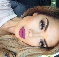 White eyeliner inner eye water line!